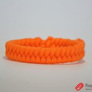 "Paracord apyrankė ""Fishtail Orange"""