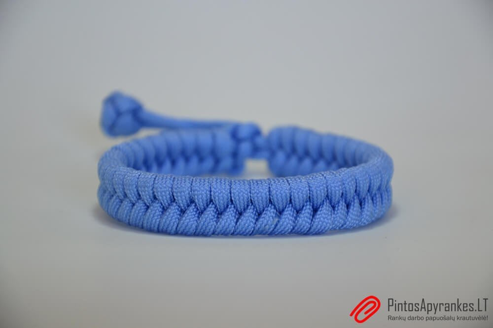 "Paracord apyrankė ""Fishtail Blue"""